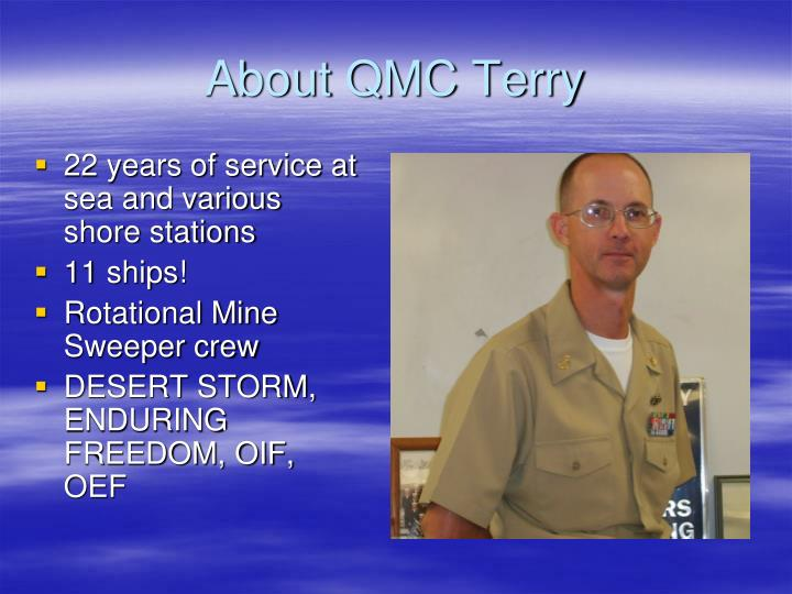 About QMC Terry