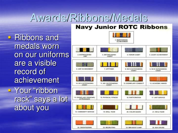Awards/Ribbons/Medals