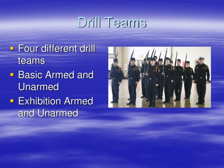 Drill Teams