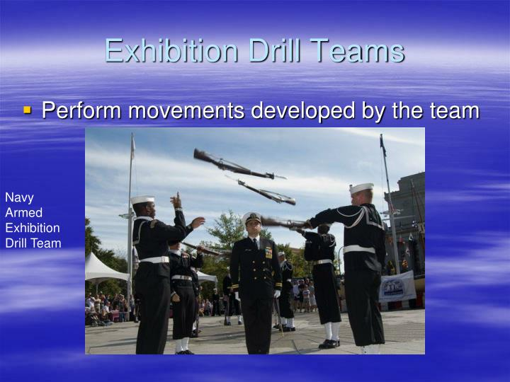Exhibition Drill Teams
