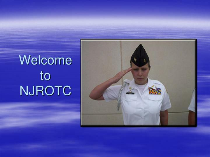 Welcome to njrotc