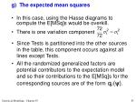 g the expected mean squares2