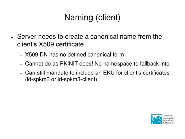 Naming (client)