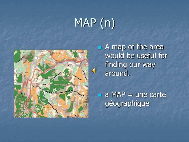MAP (n)