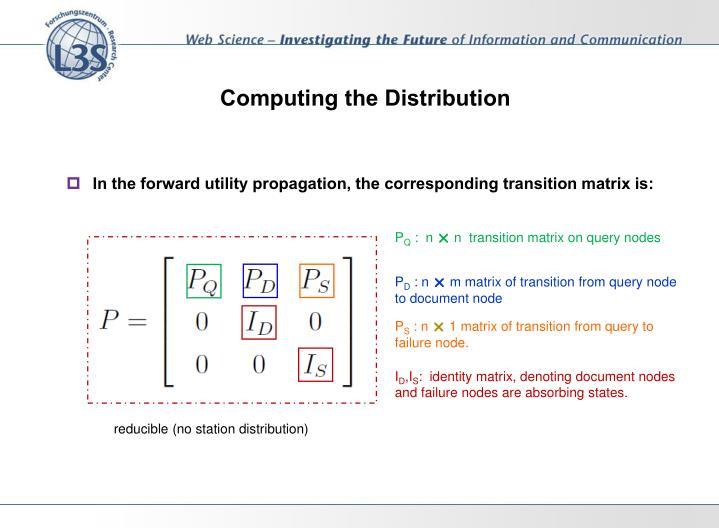Computing the Distribution