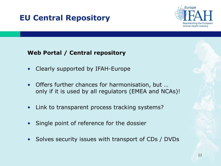 EU Central Repository