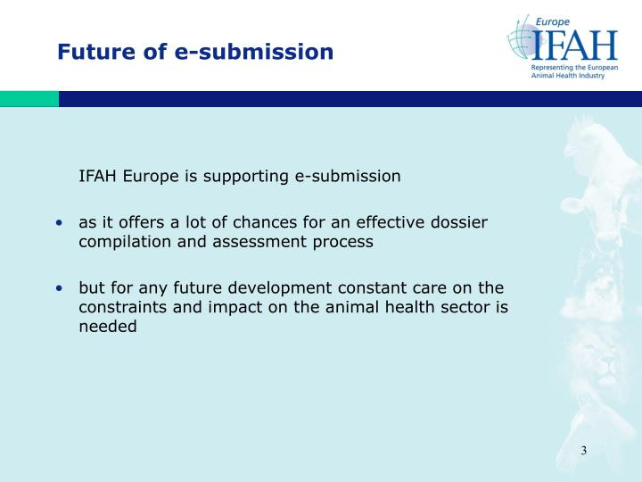 Future of e-submission