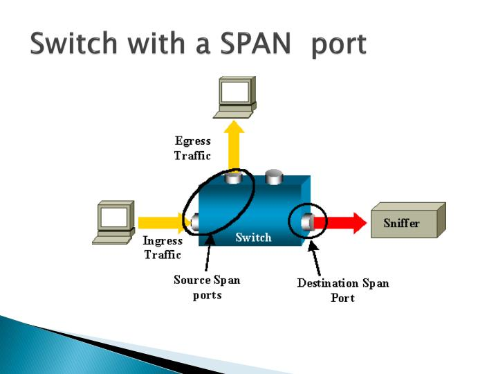 Switch with a SPAN  port