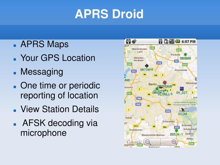 APRS Droid