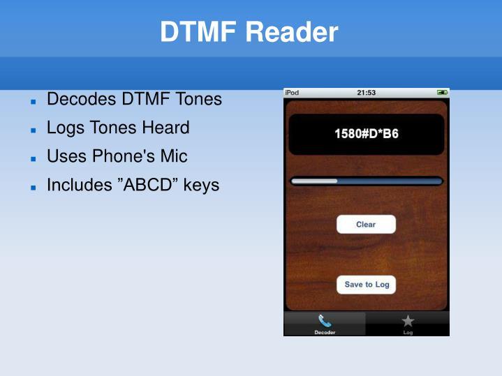 DTMF Reader