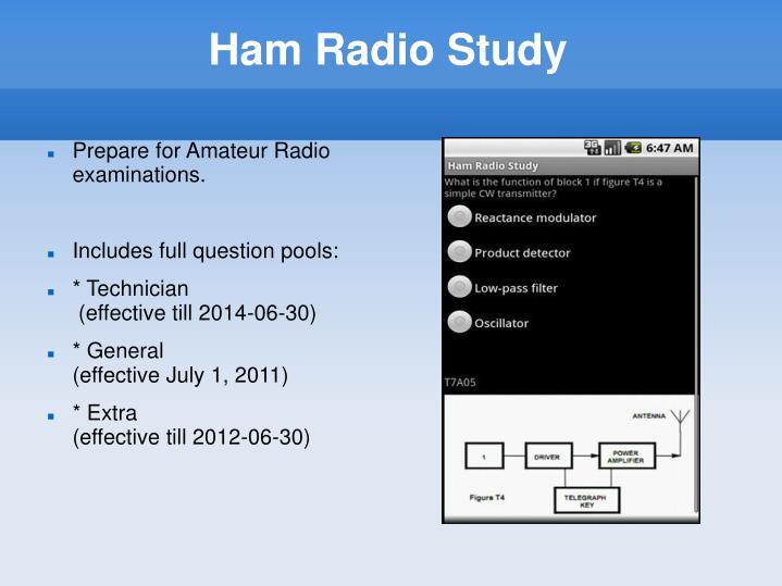 Ham Radio Study