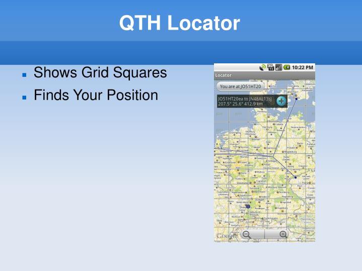 QTH Locator
