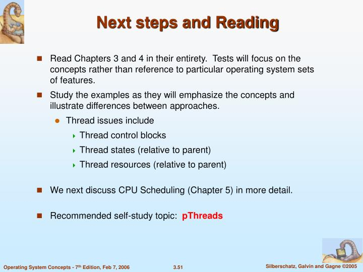 Next steps and Reading