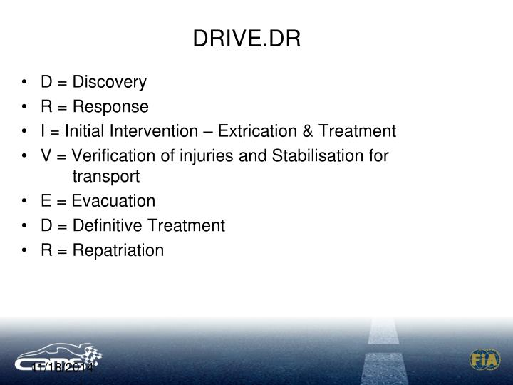 DRIVE.DR