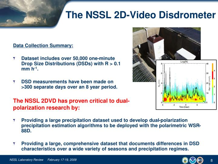 The NSSL 2D-Video Disdrometer