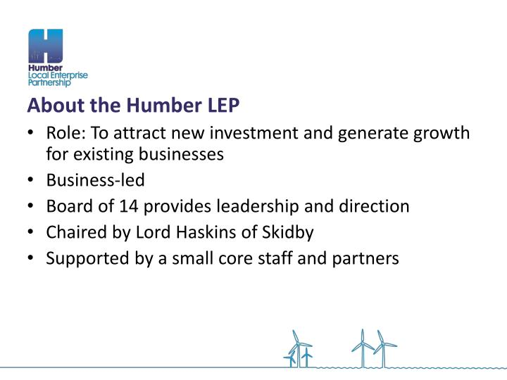 About the Humber LEP