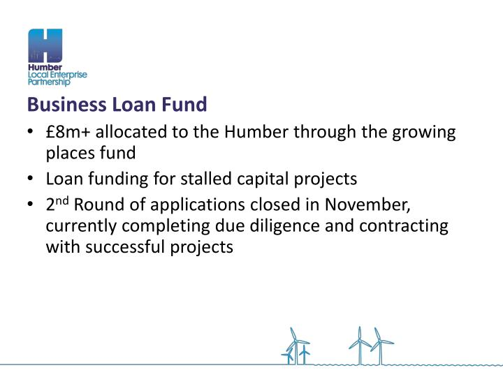 Business Loan Fund