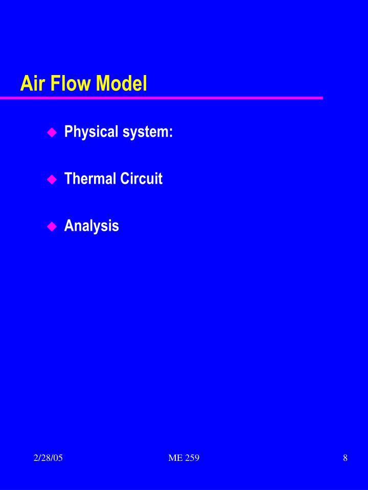 Air Flow Model