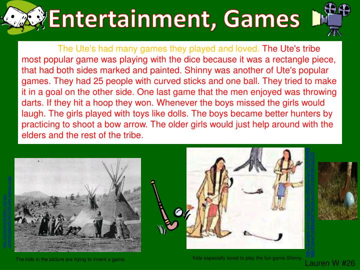 Entertainment, Games