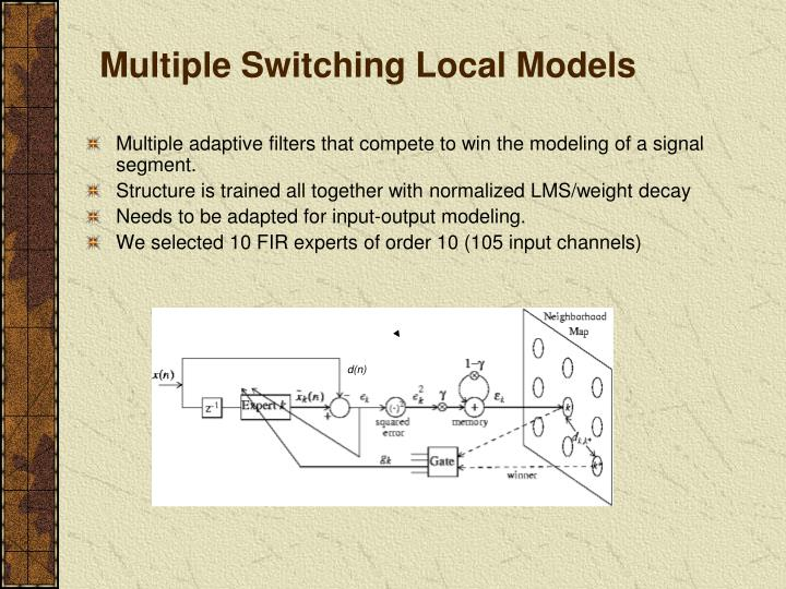 Multiple Switching Local Models