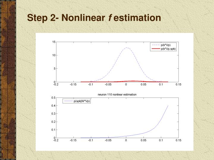 Step 2- Nonlinear
