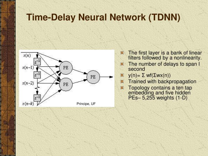 Time-Delay Neural Network (TDNN)