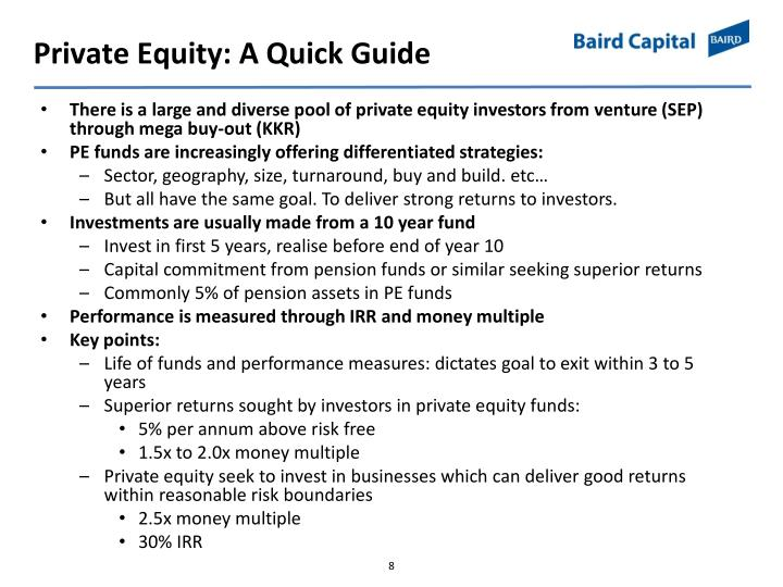 Private Equity: A