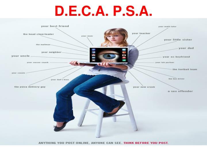 D.E.C.A. P.S.A.