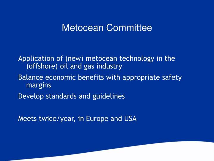 Metocean Committee