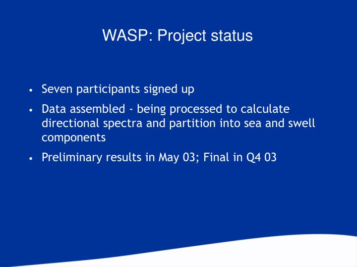 WASP: