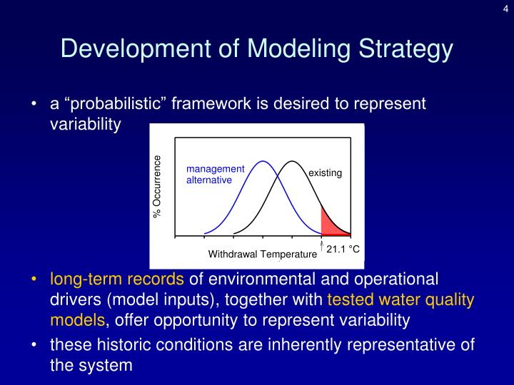 Development of Modeling Strategy