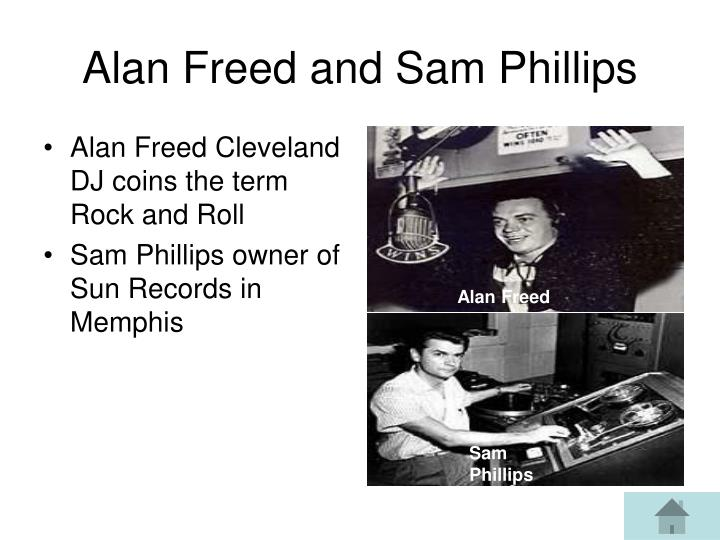 Alan Freed Cleveland DJ coins the term Rock and Roll