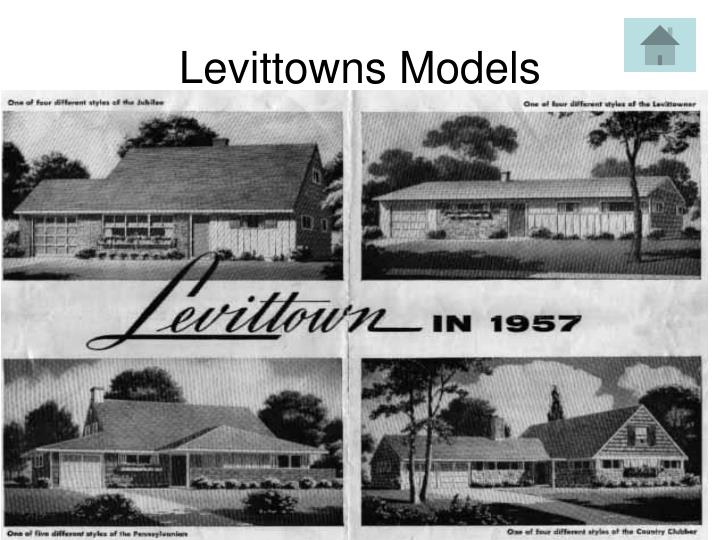 Levittowns Models