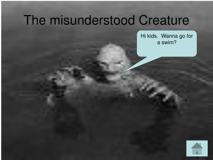 The misunderstood Creature