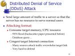 distributed denial of service ddos attack