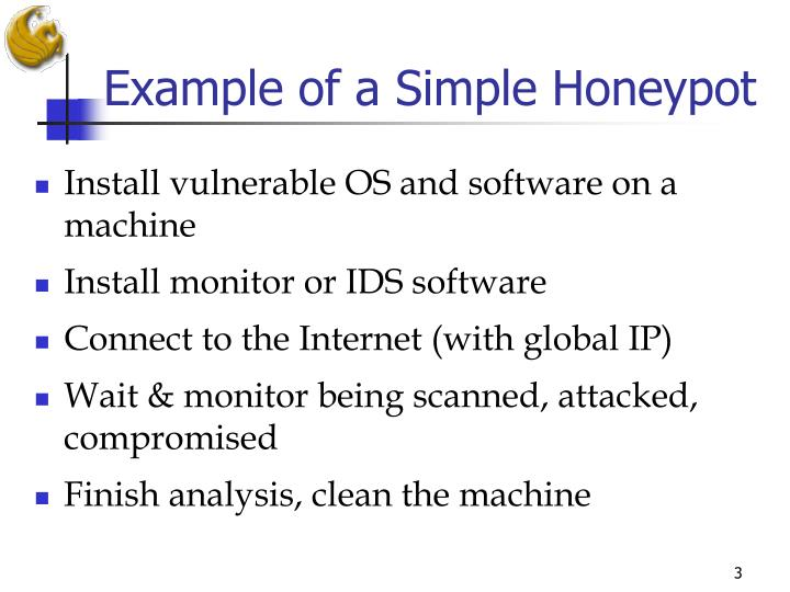 Example of a Simple Honeypot