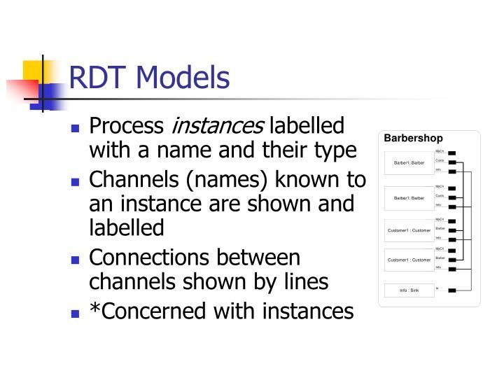 RDT Models