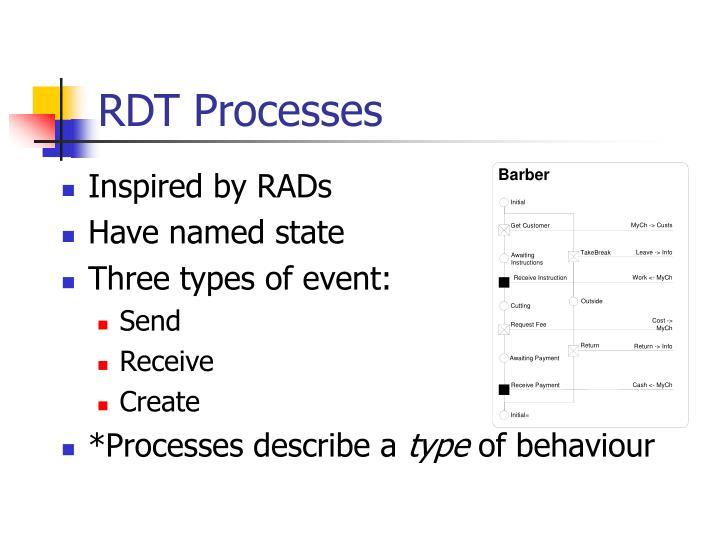 RDT Processes