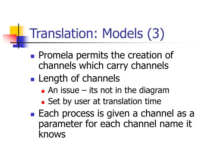 Translation: Models (3)