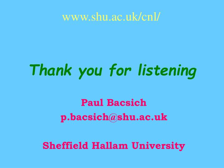 www.shu.ac.uk/cnl/