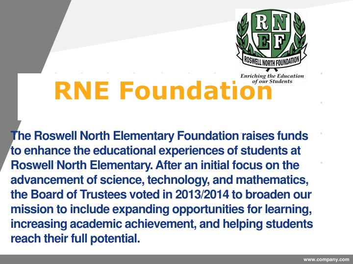 The Roswell North Elementary Foundation raises