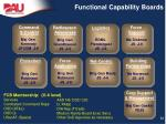 functional capability boards