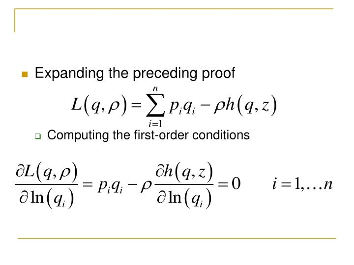 Expanding the preceding proof