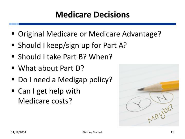 Medicare Decisions
