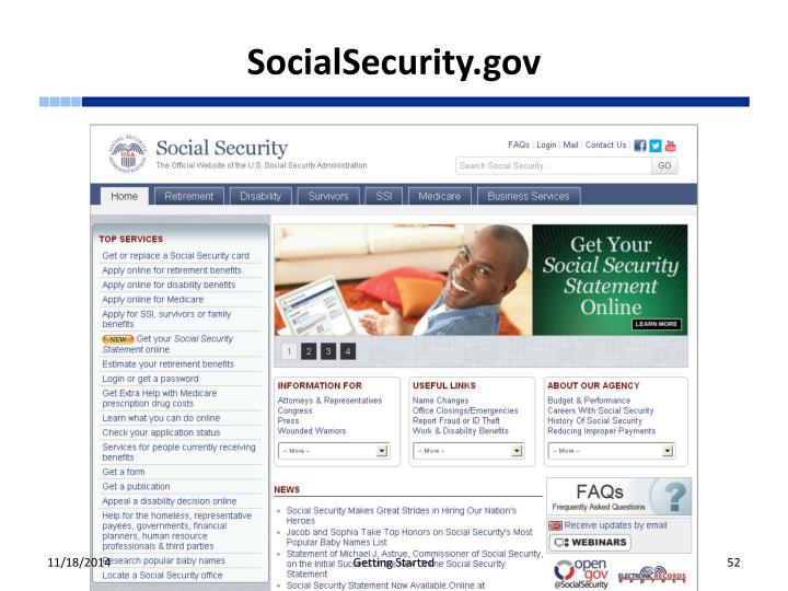 SocialSecurity.gov