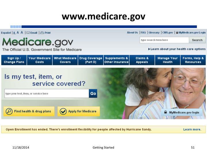 www.medicare.gov