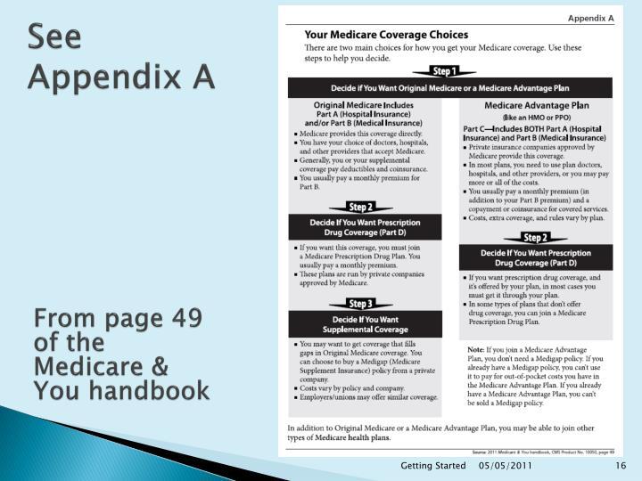 See Appendix A