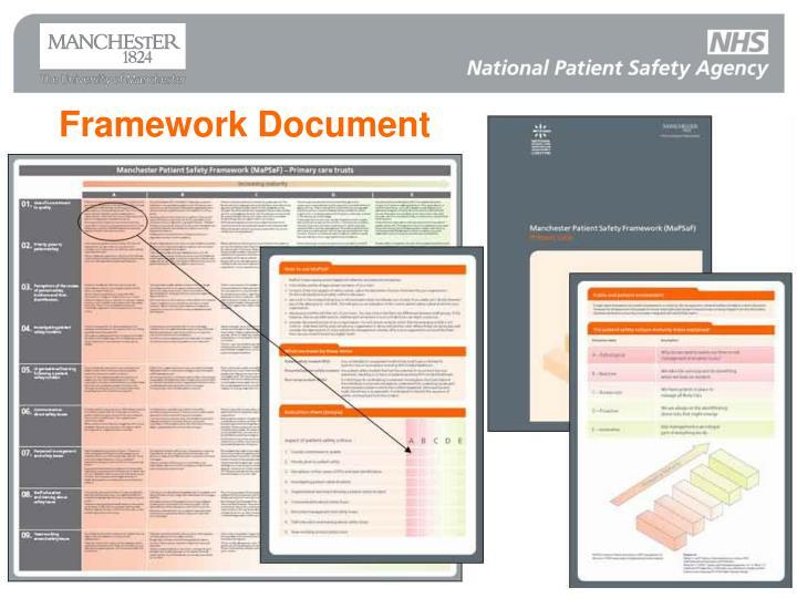 Framework Document