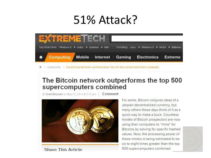 51% Attack?