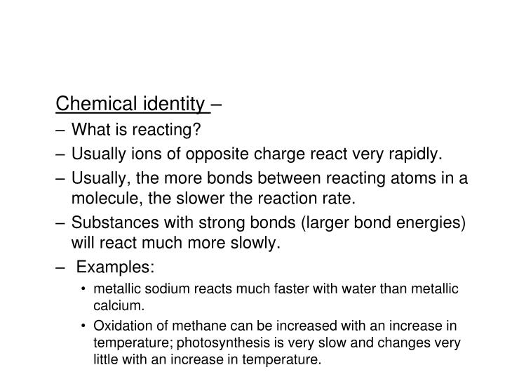 Chemical identity